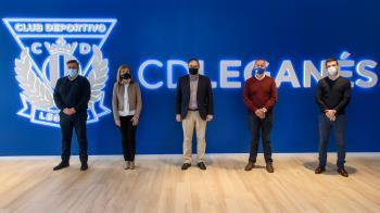 Dentro de la campaña 'El C.D. Leganés, con el deporte de su ciudad'