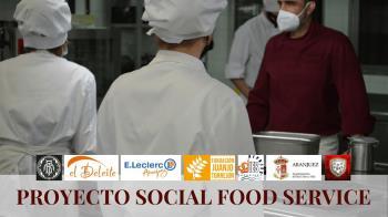"""""""Social Food Service"""" es el nombre de la iniciativa con la que se elaboraran menús donados a personas dependientes"""