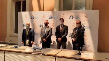 En la firma, ha participado el director adjunto de la fundación Iker Casillas