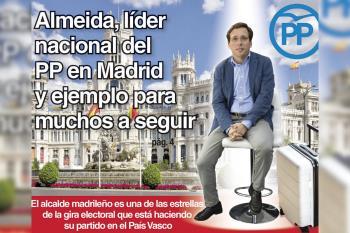 El alcalde madrileño se ha convertido en el ejemplo de concordia con el que el partido espera asaltar las elecciones vascas