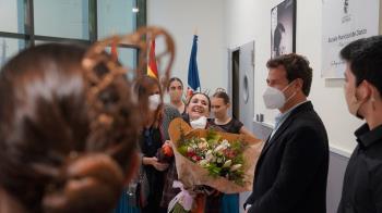 Su figura vuelve a ensalzar el símbolo de la danza en la ciudad junto a la inauguración de una exposición homenaje