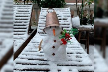 Se esperan acumulaciones de hasta 20 cm de nieve y las temperaturas descenderán