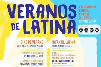 Programa cultural gratuito en el distrito del 3 al 31 de julio