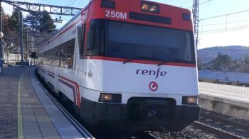 El servicio de cercanías entre las dos estaciones se ha visto afectado durante más de una hora