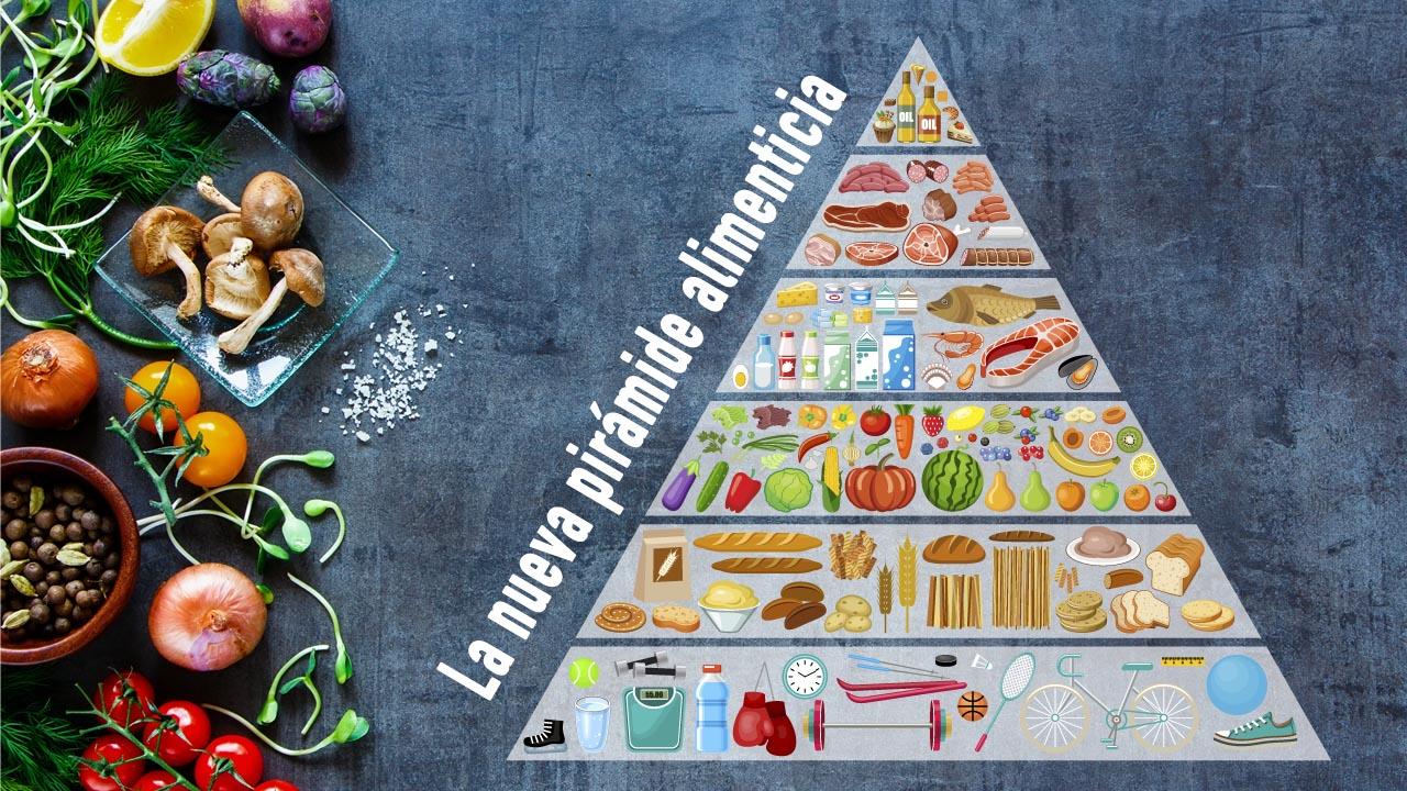 Cuidarse no es solo alimentación, te contamos en que consiste la nueva Pirámide nutricional