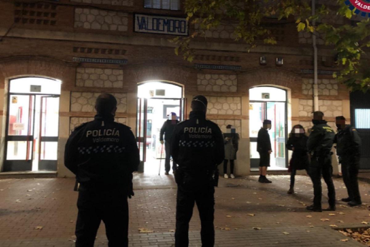 Los agentes disponían de un dispositivo de control en el lugar con la Guardia Civil