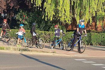 Esta iniciativa fue organizada por el Ayuntamiento con motivo de la Semana Europea de la Movilidad