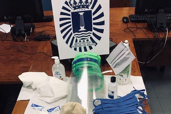 La Policía Local agradece a la ciudadanía todo el material recibido