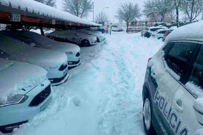 """Lee toda la noticia 'La Policía Local de Leganés tacha de """"vergonzoso"""" el protocolo de nevadas '"""