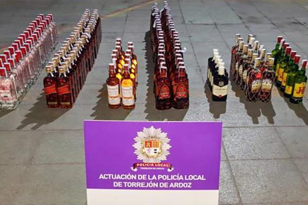 La Policía Local de Torrejón de Ardoz incauta mercancía sin registro sanitario
