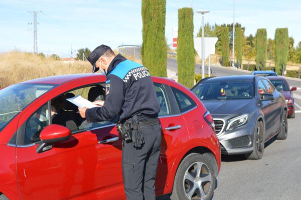 Se han establecido controles aleatorios en los accesos al municipio