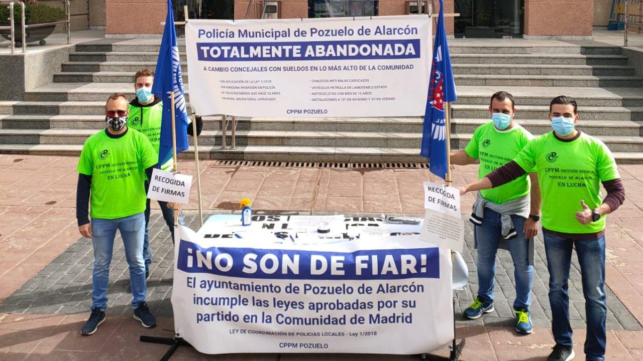 Reivindican que se cumpla la ley aprobada por la Comunidad de Madrid en 2018