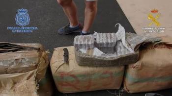 Los agentes han intervenido 103 kilogramos de la sustancia