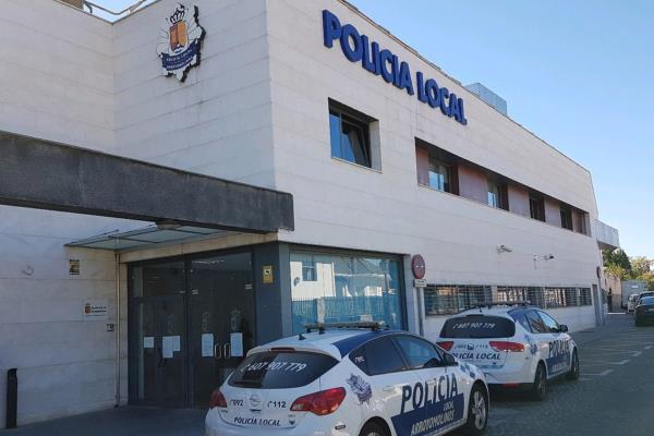 La protección a la Policía Municipal de Arroyomolinos consigue evitar los contagios entre agentes