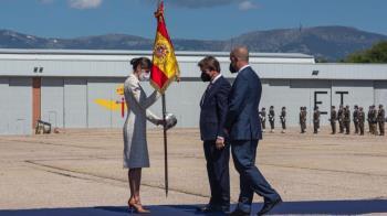El acto se celebró en en el Cuartel General de las Fuerzas Aeromóviles del Ejército de Tierra (FAMET), en la Base 'Coronel Maté' de Colmenar Viejo.