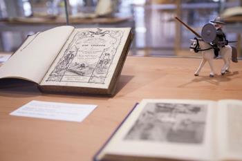 """La lectura de Don Quijote se puede ver a través del Canal """"Contigo en Casa"""", y se inicia el 9º concurso de marcapáginas."""