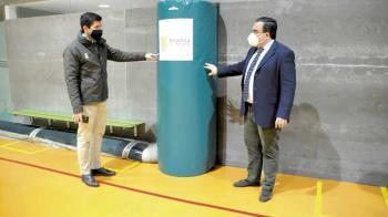 El consistorio boadillense ha finalizado los trabajos realizados en el centro deportivo