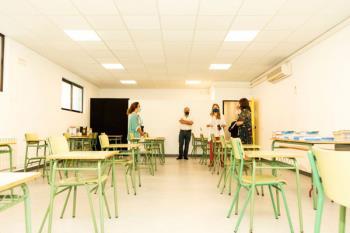 Un total de 33 alumnos de 5º y 6º de Primaria del colegio público iniciarán las clases en el espacio municipal