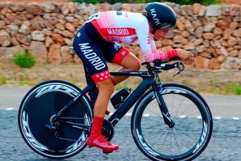 Nuestra ciclista representará a Madrid tras conseguir el quinto puesto en el nacional Junior