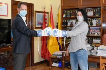 El alcalde, Ignacio Vázquez, expresó el orgullo del municipio tras su último combate