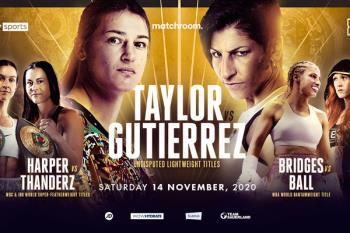 Nuestra boxeadora luchará por dominar el peso ligero frente a la invicta Katie Taylor