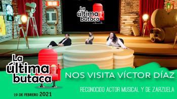 Recibimos la visita de Víctor Díaz, reconocido y aclamado intérprete del mundo del musical y la zarzuela