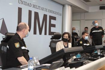El jefe del Estado Mayor de la UME ha indicado que se podrán sacar 1.500 efectivos en 48 horas