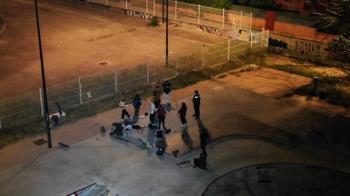 Permitieron detectar a varios grupos de jóvenes consumiendo durante la noche