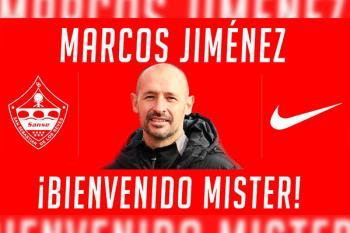 Marcos Jiménez es el nuevo míster elegido para dirigir el equipo