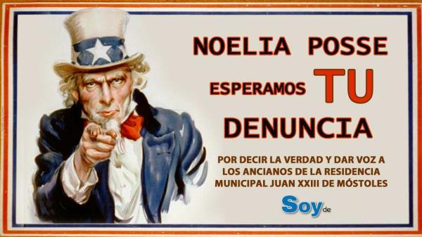 La verdad molesta a la alcaldesa: Noelia Posse denuncia al director de Soyde.