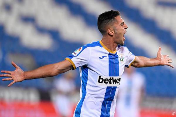 El delantero logró un doblete en la victoria del Lega contra el Cartagena