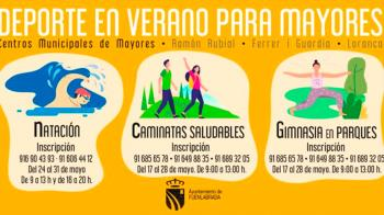 El Ayuntamiento de la ciudad organizó tres cursos para las personas mayores durante el verano