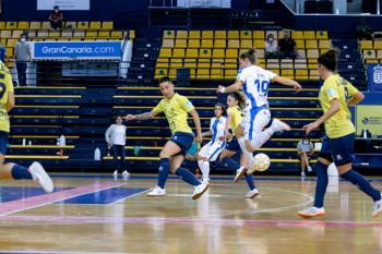 Vencieron por 2 a 3 al Gran Canaria F.S.F. Teldeportivo