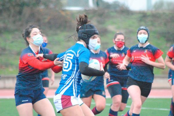 Las chicas del MAD Rugby vuelven, poco a poco, a la normalidad