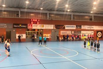 Las majariegas cayeron ante el Móstoles en la primera ronda de la Copa de la Reina