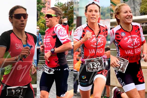 Consiguieron ser las más rápidas en la competición nacional celebrada en Bilbao