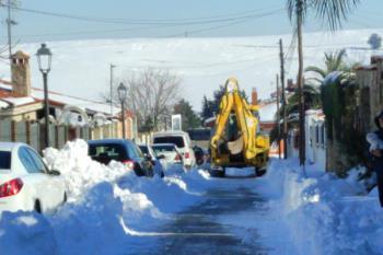 La Policía Local explicó que el acceso a la zona era complicado, pero el lunes ya estaba despejado