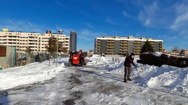 Las pérdidas en facturación de las empresas alcanzan el 80% en el Corredor del Henares a causa del temporal de nieve