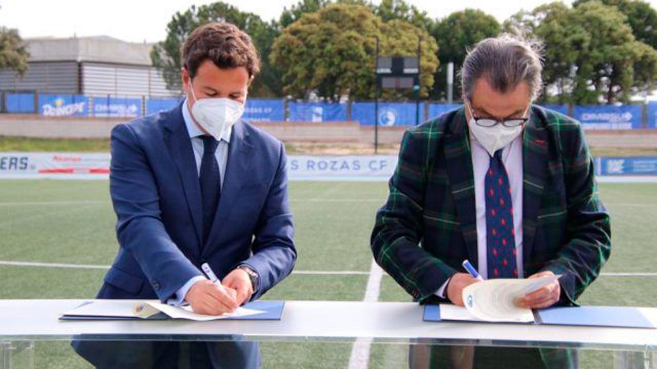 El club y la institución local han firmado un convenio de colaboración