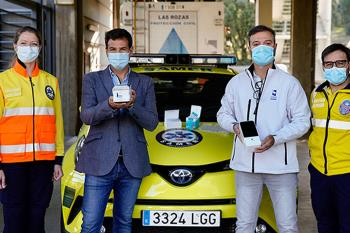 Los dispositivos cedidos por la Concejalía de Sanidad funcionan mediante test de antígenos
