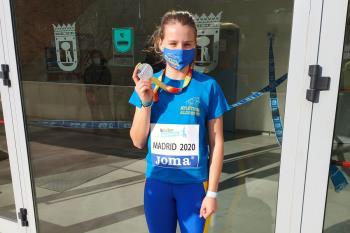 La deportista del Atletismo Alcorcón participó en la prueba de Pentathlon