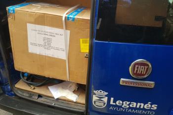 El consistorio continúa entregando material sanitario al centro
