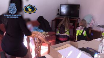 La Policía Nacional ha llevado a cabo una operación simultánea en España y Uruguay