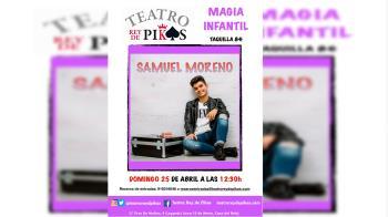 El Teatro Rey de Pikas acoge el show del mago Samuel Moreno