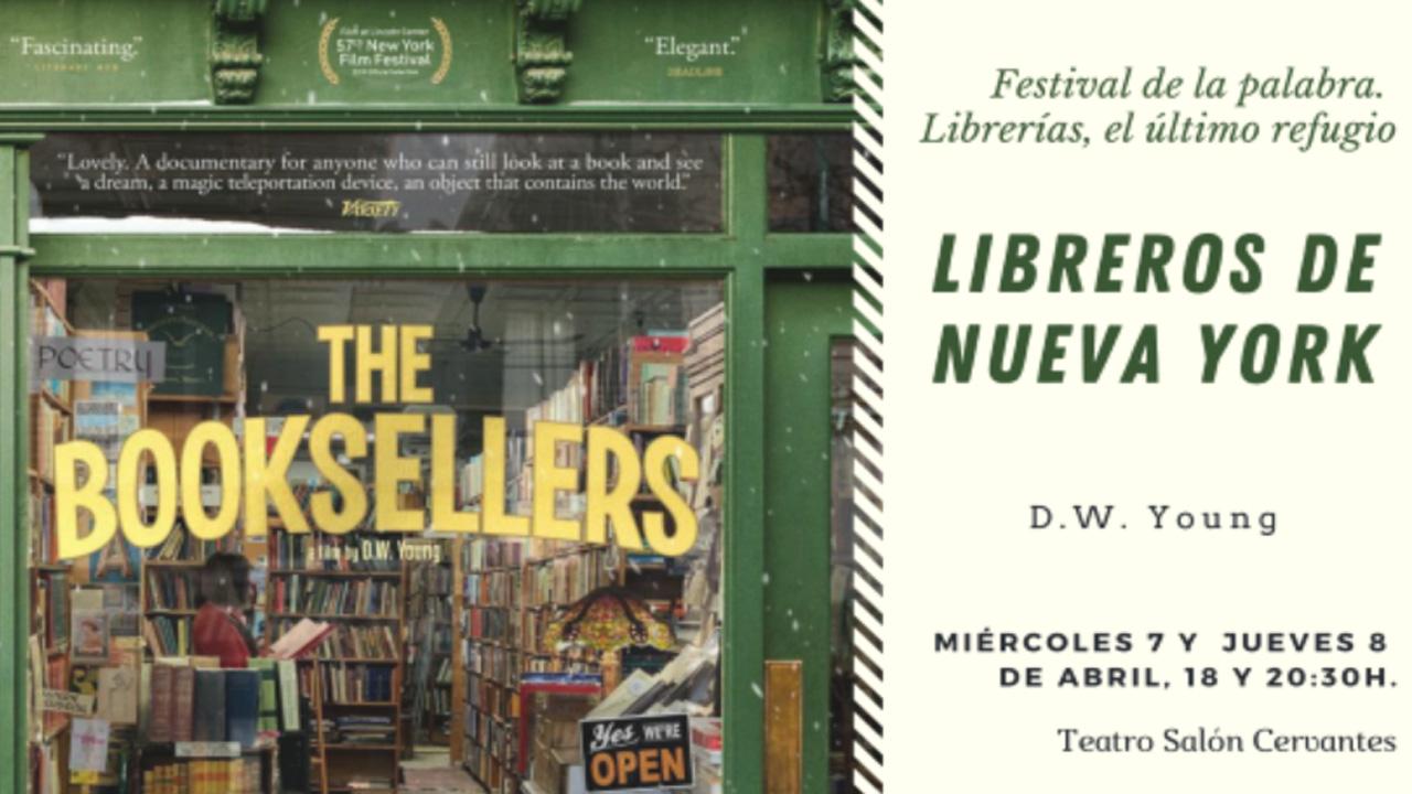 ALCINE Club presenta el documental Libreros de Nueva York