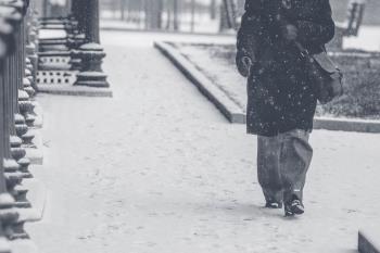 En algunas zonas de la región ya está nevando y mañana lo hará en toda la Comunidad