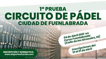 El Ayuntamiento ha organizado un circuito de pádel que comenzará el sábado 24 de abril