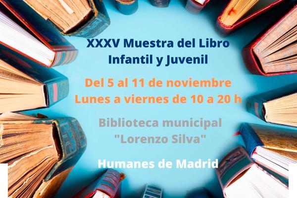 Llega la XXXV Muestra del Libro Infantil y Juvenil a Humanes de Madrid