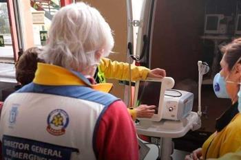 La Fundación Humanitaria A.G.H. ha donado los aparatos a los hospitales Ramón y Cajal y el Gregorio Marañón