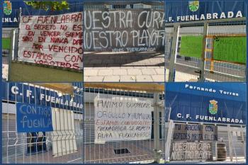 Es la iniciativa que los aficionados del Club proponen a los fuenlabreños para recibir a los jugadores a su vuelta al campo